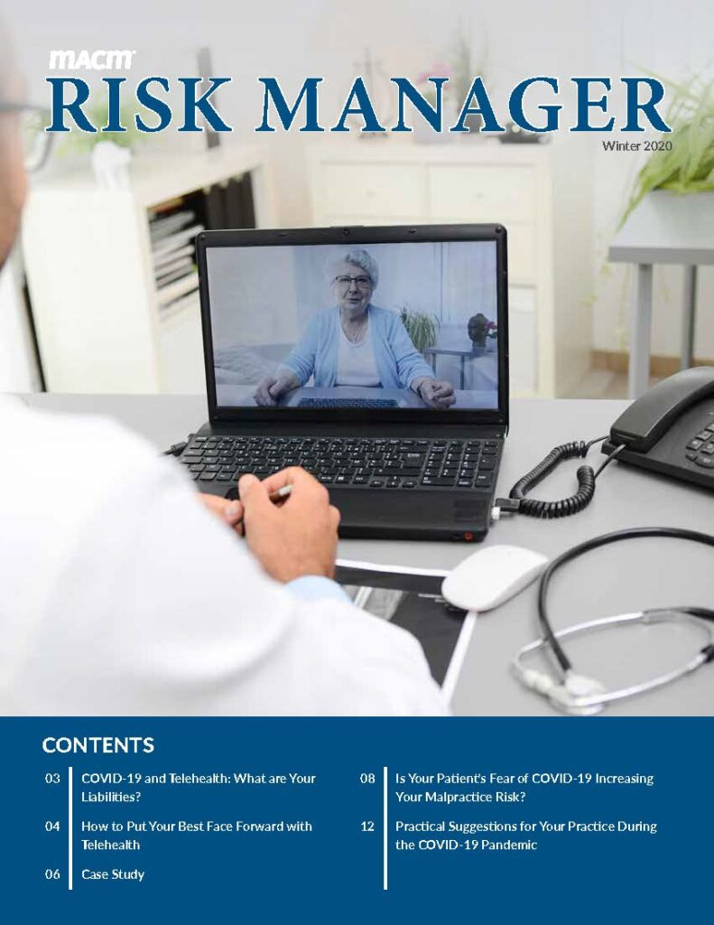 2020 Risk Manager Cover