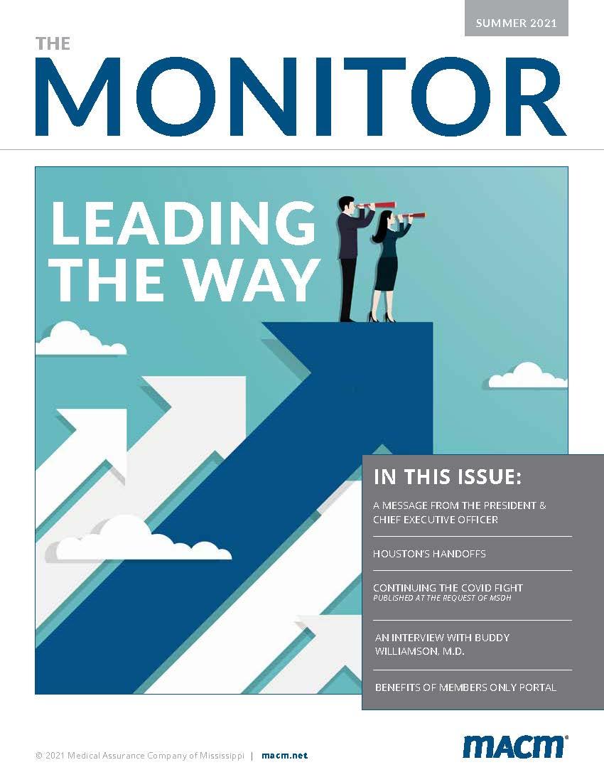 Summer 2021 MACM Monitor